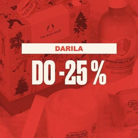 Darila do -25 %