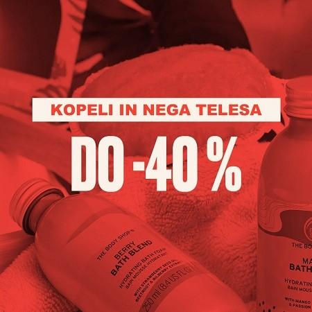 Kopeli in nega telesa do -40 %