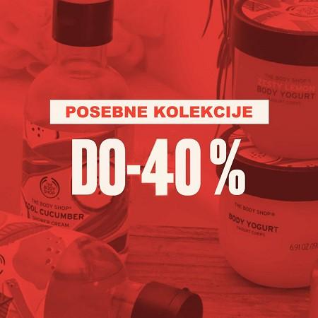 Posebne kolekcije do -40 %