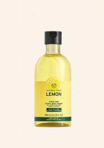 Čistilni šampon & gel za prhanje Limona