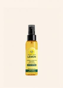 Čistilna in negovalna meglica za lase Limona