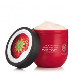 Jogurt za telo jagoda