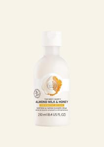 Krema za prhanje mandljevo mleko in med