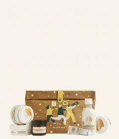 Velika darilna vrečka Mandljevo mleko & med