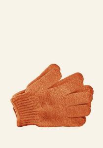 Rokavice za umivanje oranžne