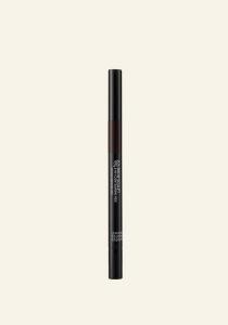Svinčnik za obrvi 3v1 temni