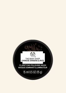 Revitalizacijska maska za obraz s kitajskim ginsengom in rižem (15 ml)