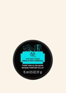 Glinena čistilna maska za obraz s himalajskim ogljem(15 ml)