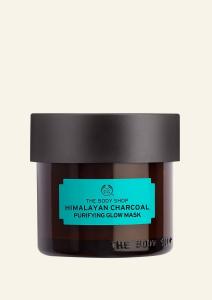 Glinena čistilna maska za obraz s himalajskim ogljem