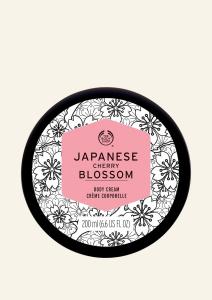Krema za telo cvet japonske češnje