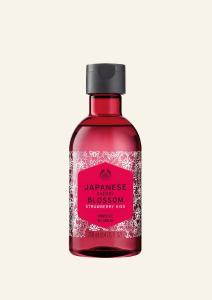 Gel za prhanje japonski češnjev cvet z jagodnim poljubom 250 ml