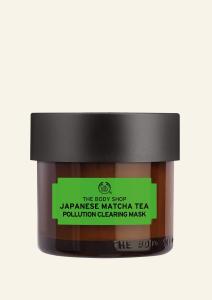 Čistilna maska za obraz z japonskim matcha čajem