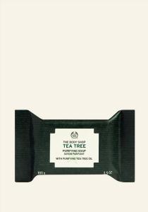 Čistilno milo za obraz s čajevcem